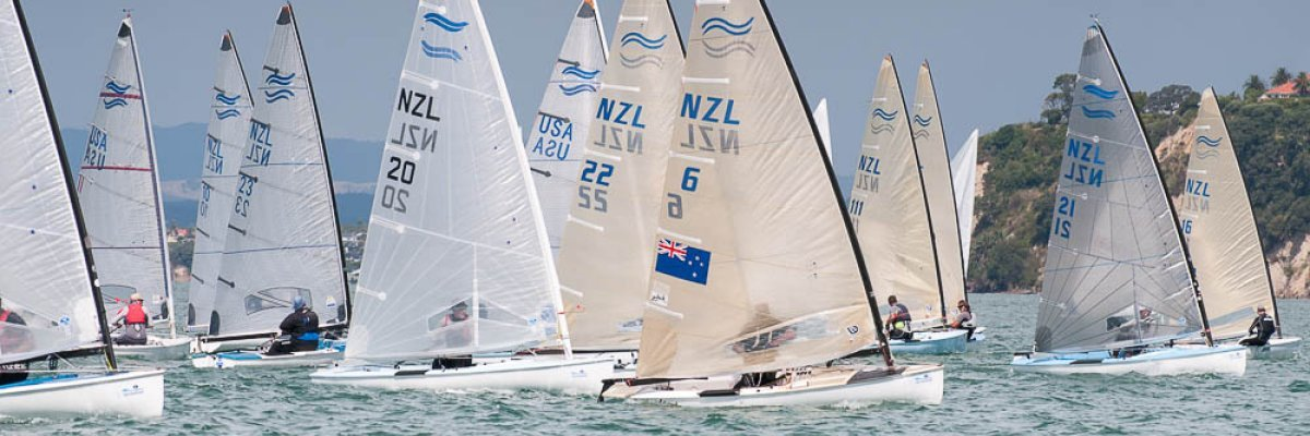 New Zealand Finn 2015 Gold Cup Selection Series