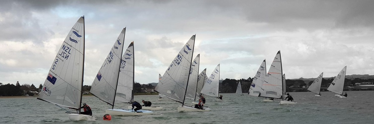 2020 NZ Finn Nationals Worser Bay